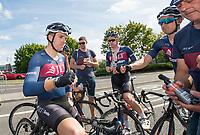 Picture by Allan McKenzie/SWpix.com - 16/07/17 - Cycling - HSBC UK British Cycling Grand Prix Series - Velo29 Altura Stockton Grand Prix - Stockton, England - JLT Condor's Brenton Jones takes the win at Stockton.