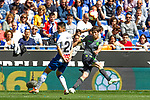 Real Sociedad's Aritz Elustondo and RCD Espanyol's Lei Wu  during La Liga match. May, 18th,2019. (ALTERPHOTOS/Alconada)