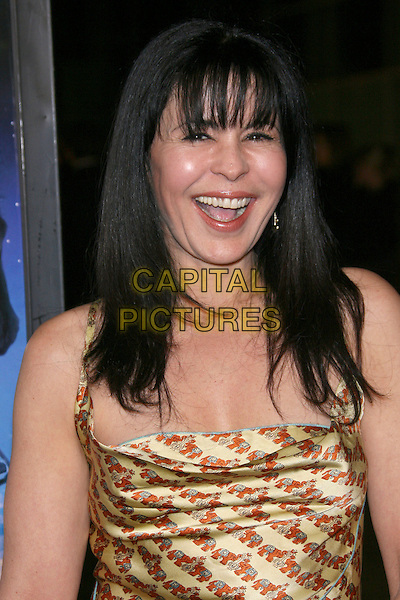 "MARIA CONCHITA ALONSO.""The Astronaut Farmer"" World Premiere - Arrivals held at the Cinerama Dome, Hollywood, California , USA, .20 February 2007..portrait headshot gold dress.CAP/ADM/ZL.©Zach Lipp/AdMedia/Capital Pictures."