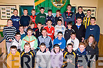 MEDALS: Abbeydorney Under,12,14 and 16 who were presented with medals and trophies on Friday night in the Abbeydorney Sport Centre, ........