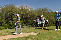 Jim Furyk (USA) heads down 9 during Round 1 of the Valero Texas Open, AT&amp;T Oaks Course, TPC San Antonio, San Antonio, Texas, USA. 4/19/2018.<br /> Picture: Golffile | Ken Murray<br /> <br /> <br /> All photo usage must carry mandatory copyright credit (&copy; Golffile | Ken Murray)