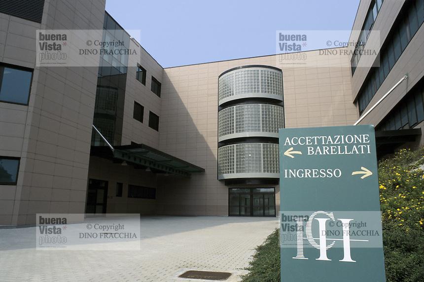 - the entrance....- Istituto Clinico Humanitas, l'entrata