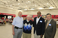 The FCA (Fellowship of Christian Athletes) held their 2019 Legends Lunchen in the Ohio State University Men's Basketball Practice Gyme. April 18, 2019