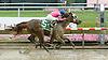 Blind Luck winning The Delaware Oaks (gr2) at Delaware Park on 7/10/10
