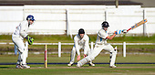 Scottish National Cricket League - Premier Div - West of Scotland CC V Aberdeenshire, at Hamilton Cres, Glasgow - 'Shire's Brad Rodden hits out on his way to 102 not out - Picture by Donald MacLeod 11.07.09