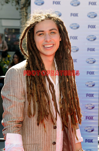 Jason Castro at the 2010 American Idol Finale at Nokia Theatre in Los Angeles, May 26th 2010...Photo by Chris Walter/Photofeatures