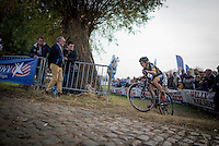 Defending champion Jolien Verschueren (BEL/Telenet-Fidea) riding strong on home soil<br /> <br /> 25th Koppenbergcross 2016