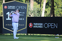 Robert Macintyre (SCO) during the second round of the Turkish Airlines Open, Montgomerie Maxx Royal Golf Club, Belek, Turkey. 08/11/2019<br /> Picture: Golffile | Phil INGLIS<br /> <br /> <br /> All photo usage must carry mandatory copyright credit (© Golffile | Phil INGLIS)