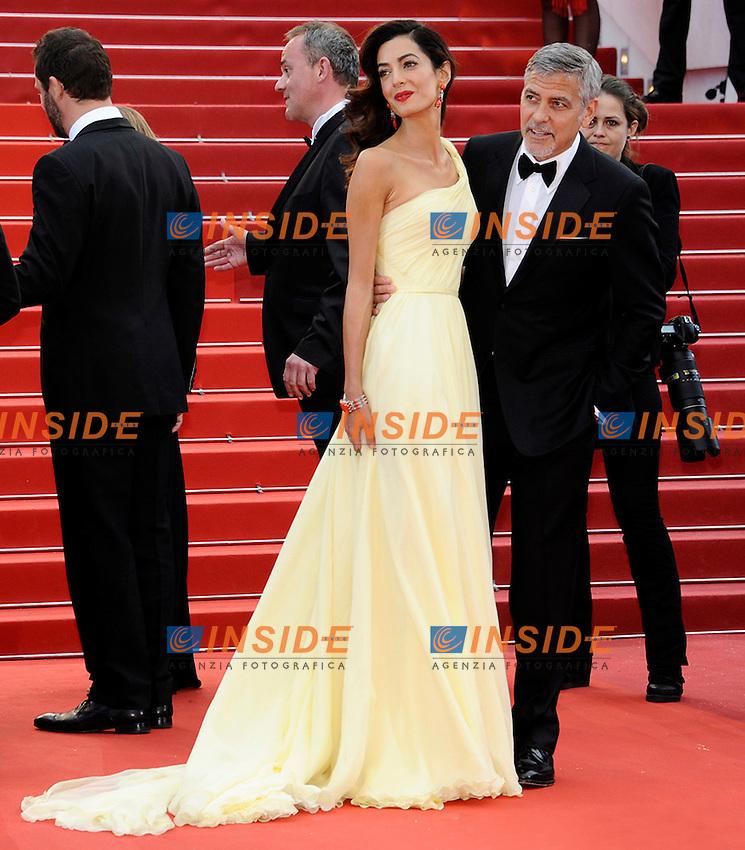 Amal Alamuddin, George Clooney<br /> Festival di Cannes 2016 <br /> Foto Panoramic / Insidefoto