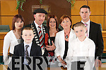 Michael Healy-Rae, new Mayor of.Kerry, elected at Kerry County Councils.meeting on Friday, pictured with.his family Rosy, Kevin, Juliette,.Eileen, Jackie and Ian.