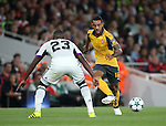 Arsenal's Theo Walcott in action during the Champions League group A match at the Emirates Stadium, London. Picture date September 28th, 2016 Pic David Klein/Sportimage