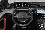 Car pictures of steering wheel view of a 2019 Peugeot 508 GT 5 Door Hatchback