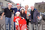 Cahersiveen traders prepare for the Christmas season pictured here front l-r; Shaunnagh & Lisa O'Shea(Glow), back l-r; Geoffrey Quirke(Kerry Coast Hotel), Tiernan Clarke(Cafesiveen), Alma Banks(Banks) & Colman Quirke(Quirke Newsagents).