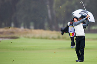Thorbjorn Olesen (DEN) during the second day of the World cup of Golf, The Metropolitan Golf Club, The Metropolitan Golf Club, Victoria, Australia. 23/11/2018<br /> Picture: Golffile | Anthony Powter<br /> <br /> <br /> All photo usage must carry mandatory copyright credit (© Golffile | Anthony Powter)