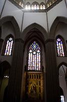 Sao Paulo_SP, Brasil...Catedral da Se em Sao Paulo. A catedral foi construida no estio neo-gotico...The Se Cathedral in Sao Paulo.The cathedral is built in the neo-gothic style...Foto: MARCUS DESIMONI /  NITRO