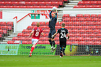 Erwin Mulder of Swansea City in action during the Sky Bet Championship match between Nottingham Forest and Swansea City at the City Ground Stadium in Nottingham, England, UK. Wednesday 15 July 2020