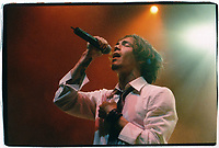 Incubus<br /> L.A. Great Western Forum<br /> Los Angeles, CA<br /> April 18, 2002<br /> Credit:  Kevin Estrada / MediaPunch