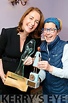 Katie Hannon winner of the Mary Cummins Award and Valerie O'Sullivan winner of the Joan Kennelly Special Merit Award  at the Women in Media event, in Ballybunion on Saturday.