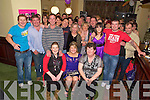 Marie Flaherty, Keel, pictured with family and friends as she celebrated her 21st in Griffins Bar, Castlemaine on saturday night.