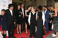 RITHY PANH, ANGELINA JOLIE, KNOX, ZAHARA AND PAX JOLIE-PITT - RED CARPET OF THE FILM 'FIRST THEY KILLED MY FATHER' - 42ND TORONTO INTERNATIONAL FILM FESTIVAL 2017