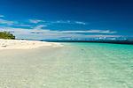 Malamala Island, a small uninhabited coral island in the Mamanuca's, Fiji Islands