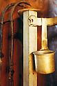 10/03/96 - CONTOURNAT - PUY DE DOME - FRANCE - Campagne de distillation de Mr GAGNAT. Bouilleur de cru ambulant - Photo © Jerome CHABANNE