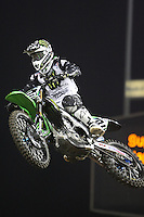 01/22/11 Los Angeles, CA: Ryan Villopoto during the1st ever AMA Supercross held at Dodger Stadium.