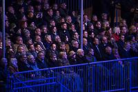 Festveranstaltung zum 30. Jahrestag des Mauerfall am Samstag den 9. November 2019 vor dem Brandenburger Tor.<br /> Im Bild: Unter den Gaesten war auch Bundeskanzlerin Angela Merkel, CDU.<br /> 9.11.2019, Berlin<br /> Copyright: Christian-Ditsch.de<br /> [Inhaltsveraendernde Manipulation des Fotos nur nach ausdruecklicher Genehmigung des Fotografen. Vereinbarungen ueber Abtretung von Persoenlichkeitsrechten/Model Release der abgebildeten Person/Personen liegen nicht vor. NO MODEL RELEASE! Nur fuer Redaktionelle Zwecke. Don't publish without copyright Christian-Ditsch.de, Veroeffentlichung nur mit Fotografennennung, sowie gegen Honorar, MwSt. und Beleg. Konto: I N G - D i B a, IBAN DE58500105175400192269, BIC INGDDEFFXXX, Kontakt: post@christian-ditsch.de<br /> Bei der Bearbeitung der Dateiinformationen darf die Urheberkennzeichnung in den EXIF- und  IPTC-Daten nicht entfernt werden, diese sind in digitalen Medien nach §95c UrhG rechtlich geschuetzt. Der Urhebervermerk wird gemaess §13 UrhG verlangt.]