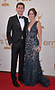 "EMILY BLUNT AND JOHN KRASINSKI.attends the Academy of Television Arts & Sciences 63rd Primetime Emmy Awards at Nokia Theatre L.A. Live, Los Angeles_18/09/2011.Mandatory Photo Credit: ©Crosby/Newspix International. .**ALL FEES PAYABLE TO: ""NEWSPIX INTERNATIONAL""**..PHOTO CREDIT MANDATORY!!: NEWSPIX INTERNATIONAL(Failure to credit will incur a surcharge of 100% of reproduction fees).IMMEDIATE CONFIRMATION OF USAGE REQUIRED:.Newspix International, 31 Chinnery Hill, Bishop's Stortford, ENGLAND CM23 3PS.Tel:+441279 324672  ; Fax: +441279656877.Mobile:  0777568 1153.e-mail: info@newspixinternational.co.uk"