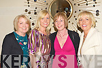 Patricia Lewis, Jessica O'Connor, Mary Kearns and Breda O'Connell Killarney having fun at the Muckross Rowing club fashion show in Hotel Europe, Killarney on Wednesday evening