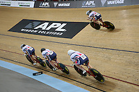 during the UCI Cycling World Cup at the Avantidrome, Cambridge, New Zealand, Friday, December 04, 2015. Credit: Dianne Manson/CyclingNZ/UCI