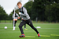 Jay Fulton of Swansea City in action during the Swansea City Training Session at The Fairwood Training Ground, Wales, UK. Tuesday 11th September 2018
