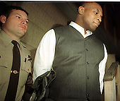 "Former Boxing World Heavyweight Champion Mike Tyson is taken to jail in Rockville, Maryland after sentencing resulting from his ""no contest"" plea for a road rage incident on February 5, 1999..Credit: Ron Sachs / CNP"
