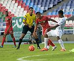Cortuluá igualó como local 1-1 ante Once Caldas. Fecha 20 Liga Águila I-2017.