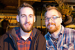 Ciaran Everitt and Chris Somerville enjoying a night in McPhails.<br /> Picture: Shane Maguire / www.newsfile.ie