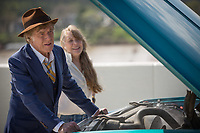 The Old Man &amp; the Gun (2018) <br /> Robert Redford &amp; Sissy Spacek<br /> *Filmstill - Editorial Use Only*<br /> CAP/MFS<br /> Image supplied by Capital Pictures