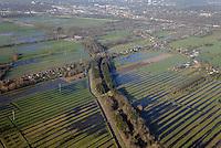 Ueberschwenmtes Ackerland in Curslack: EUROPA, DEUTSCHLAND, HAMBURG 17.01.2015: Ueberschwenmtes Ackerland in Curslack