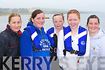 Norma Moriarty, Paula O'Sullivan, Josephine McGillicuddy, Aisling O'Sullivan and Ciara Fitzgerald Waterville enjoying the Ballinskelligs regatta on Sunday    Copyright Kerry's Eye 2008