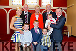Seán Óg Brosnan, from Caherleaheen NS had his First communion at the Immaculate Conception Church Rathass on Saturday. Pictured with family Oisín Brosnan,Sean Óg Brosnan,Finán Brosnan,Fiona Brosnan,Johnny Brosnan,Joan O'Dowd,Larry O'Dowd and Eveen Brosnan