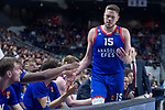 Anadolu Efes Vladimir Stimac during Turkish Airlines Euroleague match between Real Madrid and Anadolu Efes at Wizink Center in Madrid, Spain. January 25, 2018. (ALTERPHOTOS/Borja B.Hojas)