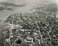 1950 March 25.Historical...Aerial view looking West..PHOTO CRAFTSMEN INC..NEG# 7-796.NRHA# 3791..