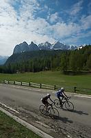 Summit of Passo Crostis