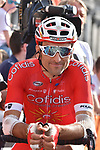 Luis Angel Mate (ESP) Cofidis ready for the start of the 104th edition of La Doyenne, Liege-Bastogne-Liege 2018 running 258.5km from Liege to Ans, Belgium. 22nd April 2018.<br /> Picture: ASO/Karen Edwards | Cyclefile<br /> <br /> <br /> All photos usage must carry mandatory copyright credit (&copy; Cyclefile | ASO/Karen Edwards)