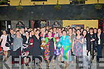 CHAMPANE: Champane was poured on the arrival of Mags Connell who fretired from Kerry General Hospital and a party was held in Kirbys Brogue Inn Tralee on Friday night by her fellow workers and friends (mags holds her glass as Marie Kirby pours her champagne).....