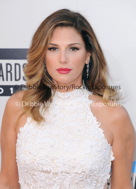 LOS ANGELES, CA - NOVEMBER 24: Daisy Fuentes <br />  arrives at   The 2013 American Music Awards held at Nokia Live in Los Angeles, California on November 24,2013                                                                               © 2013 Hollywood Press Agency