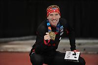 SPEEDSKATING: SALT LAKE CITY: 10-12-2017, Utah Olympic Oval, ISU World Cup, Ted-Jan Bloemen (CAN), World record holder 5000m Men 6.01,86, ©photo Martin de Jong