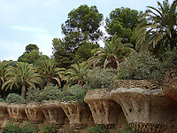 Guell Park (Guell Parc), Spain.