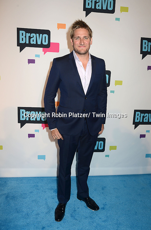 Curtis Stone arrives at the Bravo 2013  Upfront on April 3, 2013 at Pillars 37 Studio in New York City.