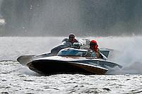"H-202 ""Heavy Duty"" (1964 Lauterbach 7 Litre/Grand Prix hydroplane) and J-1 ""Bluewater Special"" (1978 Staudacher 7 Litre Div II hydroplane)"
