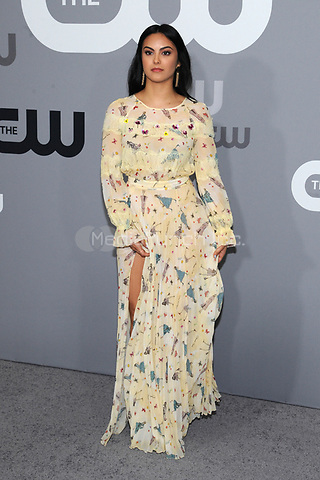 NEW YORK, NY - MAY 17: Camila Mendes at the 2018 CW Network Upfront at The London Hotel on May 17, 2018 in New York City. Credit: John Palmer/MediaPunch